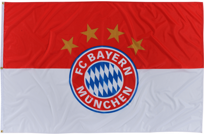 Drapeau FC Bayern München Logo - 120 x 180 cm
