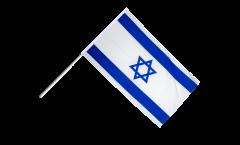 Drapeau Israel sur hampe - 60 x 90 cm