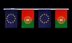 Guirlande d'amitié Portugal - Union européenne UE - 15 x 22 cm