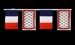Guirlande d'amitié France - Limousin - 30 x 45 cm