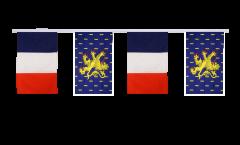 Guirlande d'amitié France - Franche-Comté - 30 x 45 cm