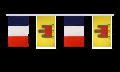 Guirlande d'amitié France - Auvergne - 30 x 45 cm