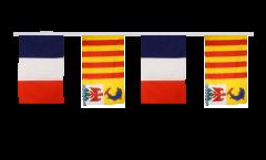 Guirlande d'amitié France - Provence Alpes Côte d'Azur - 30 x 45 cm