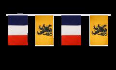 Guirlande d'amitié France - Nord Pas de Calais - 30 x 45 cm