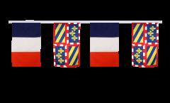Guirlande d'amitié France - Bourgogne - 30 x 45 cm