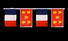 Guirlande d'amitié France - Poitou - Charentes - 30 x 45 cm