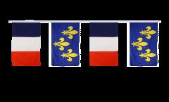 Guirlande d'amitié France - Île de France - 30 x 45 cm