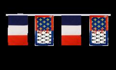 Guirlande d'amitié France - Pays de la Loire - 30 x 45 cm