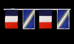 Guirlande d'amitié France - Champagne-Ardenne - 30 x 45 cm