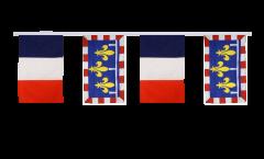 Guirlande d'amitié France - Centre - 30 x 45 cm