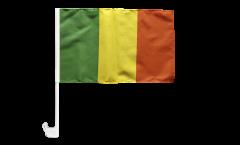 Drapeau de voiture Mali - 30 x 40 cm