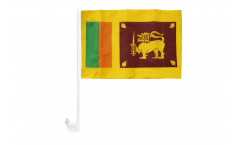 Drapeau de voiture Sri Lanka - 30 x 40 cm