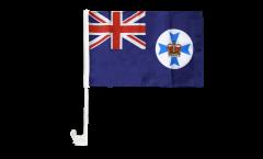 Drapeau de voiture Australie Queensland - 30 x 40 cm