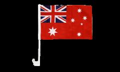 Drapeau de voiture Australie red Ensign Pavillon marchand - 30 x 40 cm