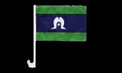 Drapeau de voiture Australie Torres Strait Islands - 30 x 40 cm