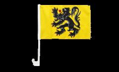 Drapeau de voiture Belgique Flandre - 30 x 40 cm