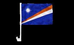Drapeau de voiture Îles Marshall - 30 x 40 cm