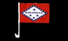 Drapeau de voiture USA US Arkansas - 30 x 40 cm