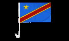 Drapeau de voiture République démocratique du Congo - 30 x 40 cm