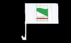 Drapeau de voiture Italie Émilie-Romagne - 30 x 40 cm