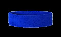 Bandeau de transpiration Unicolore Bleu - 6 x 21 cm