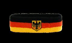 Bandeau de transpiration Allemagne Dienstflagge - 6 x 21 cm