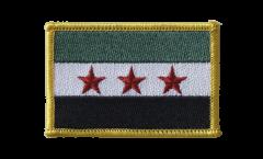 Écusson brodé Syrie 1932-1963 / Opposition - Armée Syrienne Libre - 8 x 6 cm