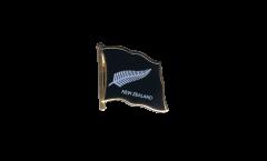 Pin's (épinglette) Drapeau Nouvelle-Zélande Plume All Blacks - 2 x 2 cm