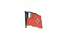 Pin's (épinglette) Drapeau Wallis-et-Futuna - 2 x 2 cm