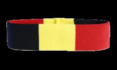 Bandeau de transpiration Belgique - 6 x 21 cm