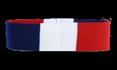 Bandeau de transpiration France - 6 x 21 cm