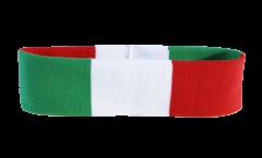 Bandeau de transpiration Italie - 6 x 21 cm