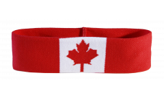 Bandeau de transpiration Canada - 6 x 21 cm