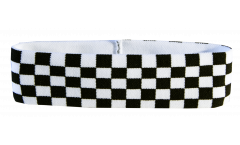 Bandeau de transpiration Damier F1 - 6 x 21 cm