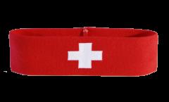 Bandeau de transpiration Suisse - 6 x 21 cm
