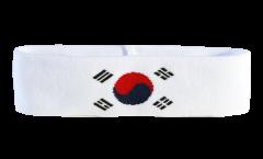Bandeau de transpiration Corée du Sud - 6 x 21 cm