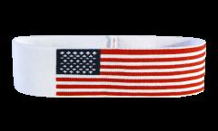 Bandeau de transpiration USA - 6 x 21 cm