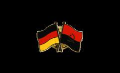 Pin's épinglette de l'amitié Allemagne - Angola - 22 mm