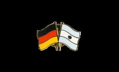 Pin's épinglette de l'amitié Allemagne - Argentine - 22 mm