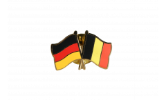 Pin's épinglette de l'amitié Allemagne - Belgique - 22 mm