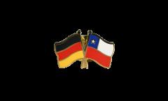 Pin's épinglette de l'amitié Allemagne - Chili - 22 mm