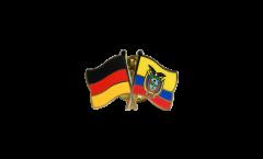 Pin's épinglette de l'amitié Allemagne - Équateur - 22 mm