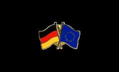 Pin's épinglette de l'amitié Allemagne - Union européenne UE - 22 mm