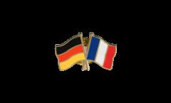 Pin's épinglette de l'amitié Allemagne - France - 22 mm
