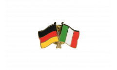 Pin's épinglette de l'amitié Allemagne - Italie - 22 mm
