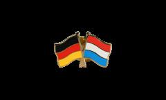 Pin's épinglette de l'amitié Allemagne - Luxembourg - 22 mm