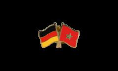 Pin's épinglette de l'amitié Allemagne - Maroc - 22 mm