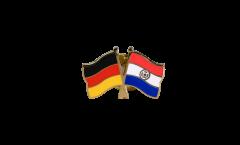 Pin's épinglette de l'amitié Allemagne - Paraguay - 22 mm