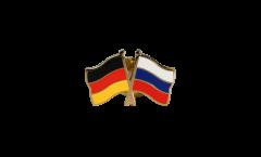 Pin's épinglette de l'amitié Allemagne - Russie - 22 mm