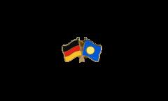 Pin's épinglette de l'amitié Allemagne - République des Palaos - 22 mm